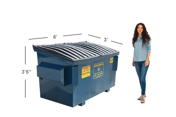 Front Load Dumpsters Amp Containers Amp Cart Service